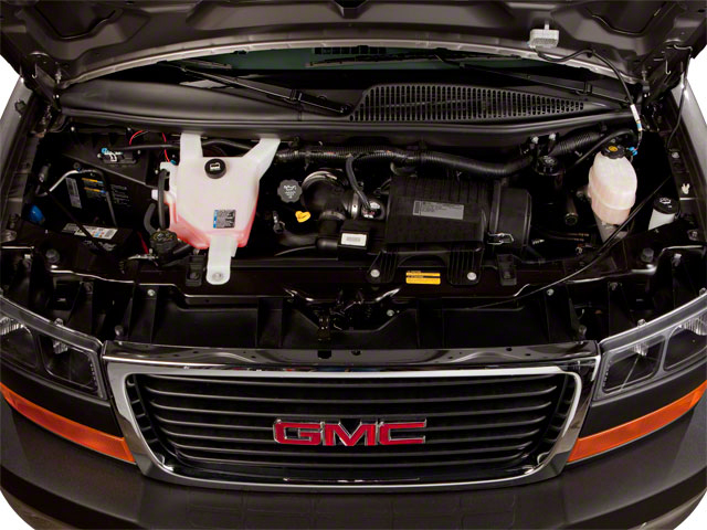 2011 GMC Savana Passenger Pictures Savana Passenger Savana LS 135 photos engine
