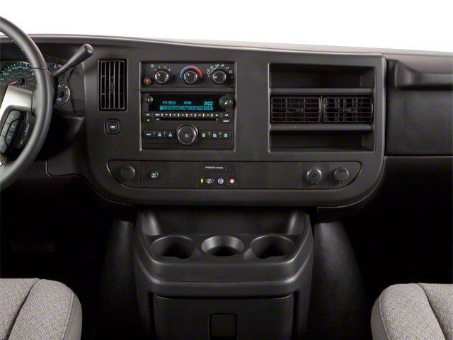 2011 GMC Savana Passenger Pictures Savana Passenger Savana LS 135 photos center dashboard