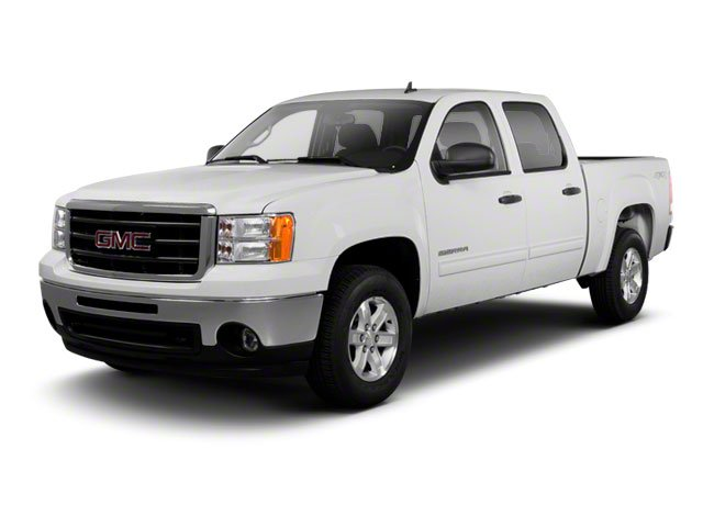 2011 GMC Sierra 1500 Pictures Sierra 1500 Crew Cab SLE 2WD photos side front view