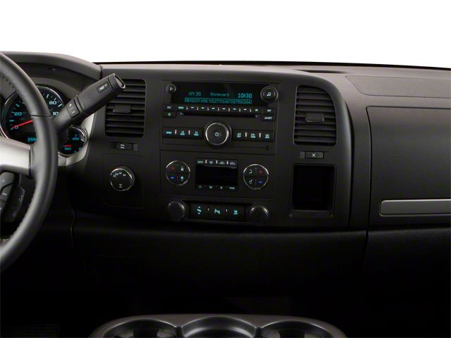 2011 GMC Sierra 1500 Prices and Values Crew Cab SL 4WD center dashboard