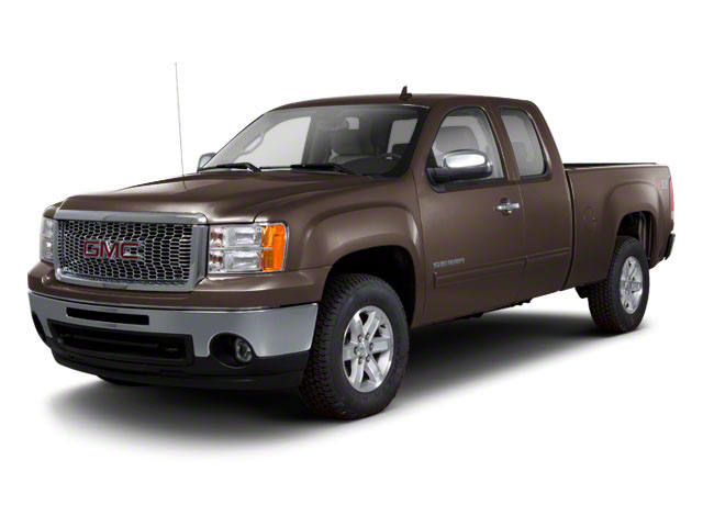 2011 GMC Sierra 1500 Pictures Sierra 1500 Extended Cab SL 4WD photos side front view