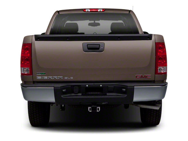 2011 GMC Sierra 1500 Pictures Sierra 1500 Extended Cab SL 4WD photos rear view