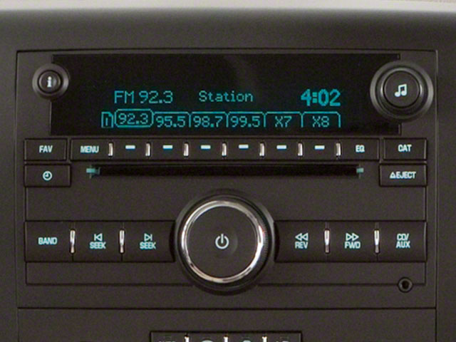 2011 GMC Sierra 1500 Prices and Values Extended Cab SLE 4WD stereo system
