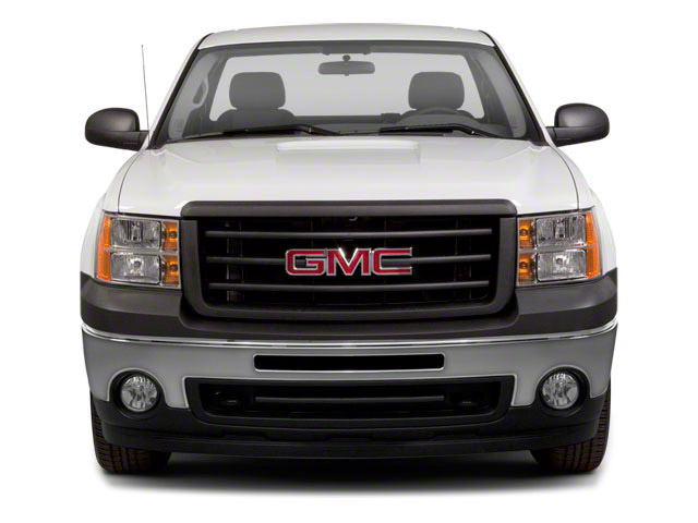 2011 GMC Sierra 1500 Pictures Sierra 1500 Regular Cab SLE 4WD photos front view