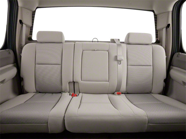 2011 GMC Sierra 2500HD Prices and Values Crew Cab Denali 4WD backseat interior