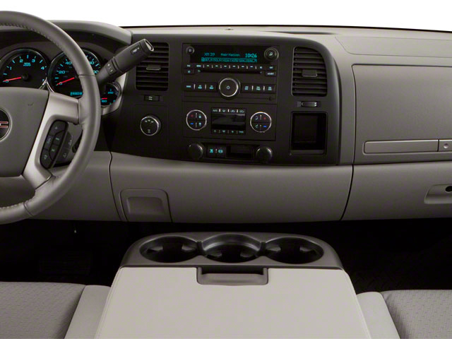 2011 GMC Sierra 2500HD Prices and Values Crew Cab Denali 4WD center dashboard