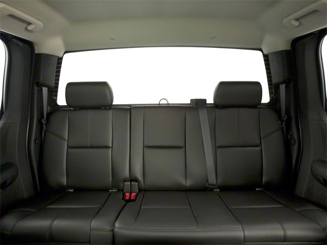 2011 GMC Sierra 2500HD Pictures Sierra 2500HD Extended Cab SLE 4WD photos backseat interior