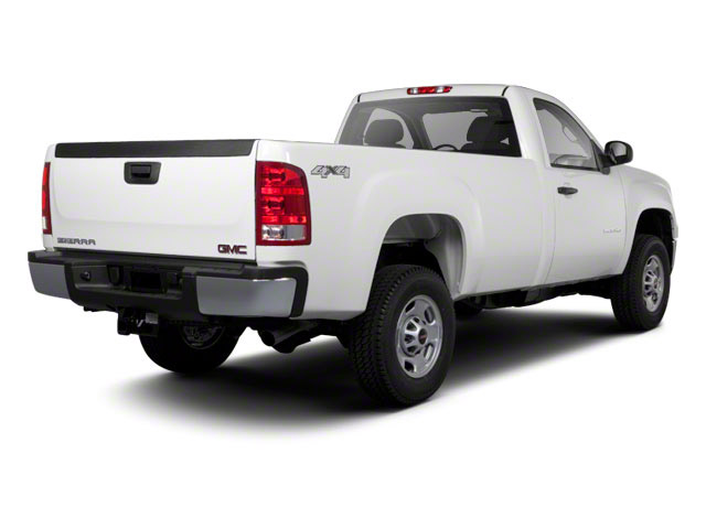 2011 GMC Sierra 2500HD Prices and Values Regular Cab SLE 2WD side rear view