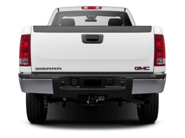 2011 GMC Sierra 2500HD Prices and Values Regular Cab SLE 2WD rear view