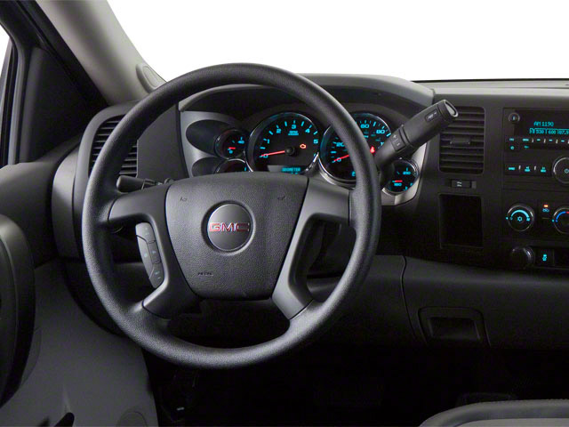 2011 GMC Sierra 2500HD Prices and Values Regular Cab SLE 2WD driver's dashboard