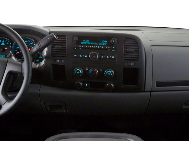 2011 GMC Sierra 2500HD Prices and Values Regular Cab SLE 2WD center dashboard