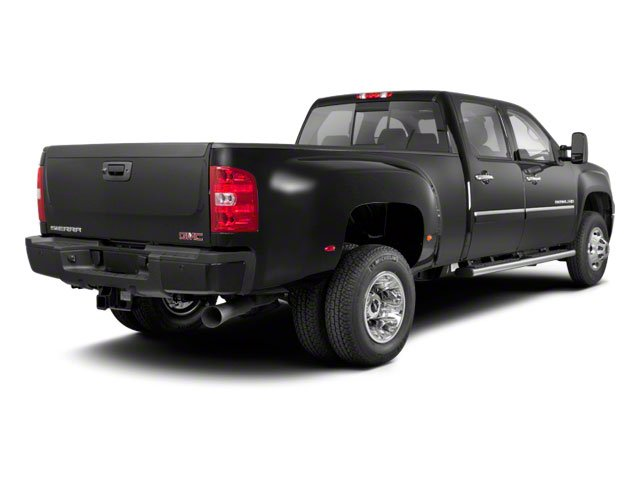 2011 GMC Sierra 3500HD Prices and Values Crew Cab SLE 4WD side rear view