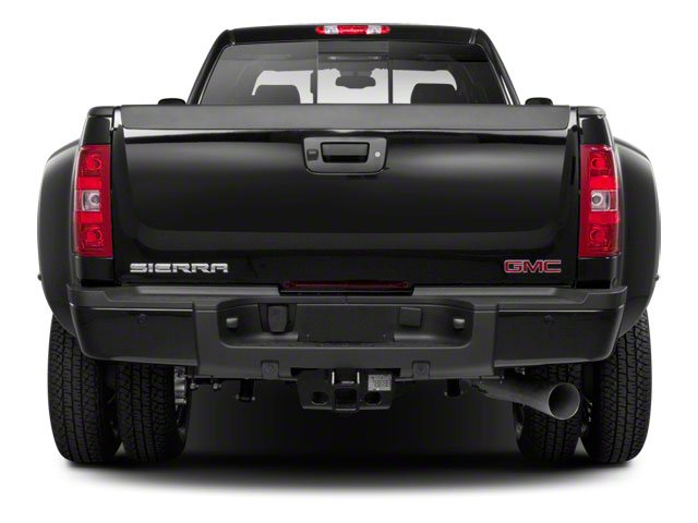 2011 GMC Sierra 3500HD Prices and Values Crew Cab SLE 4WD rear view