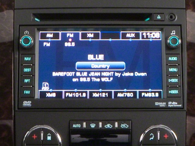 2011 GMC Sierra 3500HD Prices and Values Crew Cab SLE 4WD stereo system