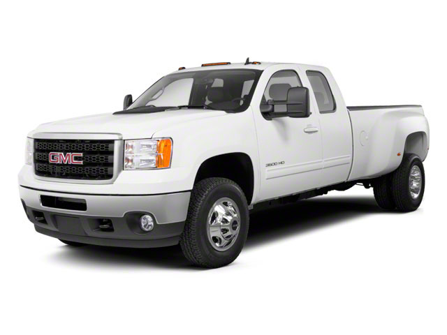 2011 GMC Sierra 3500HD Prices and Values Extended Cab SLE 2WD side front view