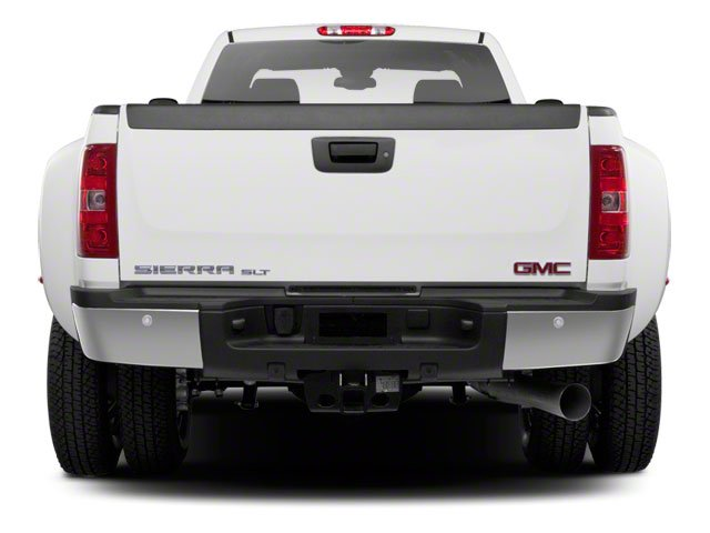 2011 GMC Sierra 3500HD Prices and Values Extended Cab SLE 2WD rear view