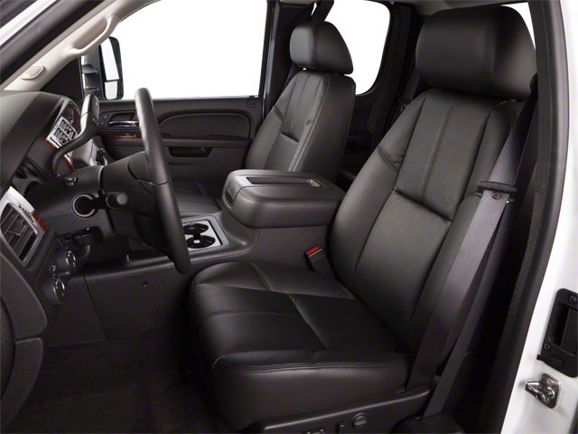 2011 GMC Sierra 3500HD Prices and Values Extended Cab SLE 2WD front seat interior