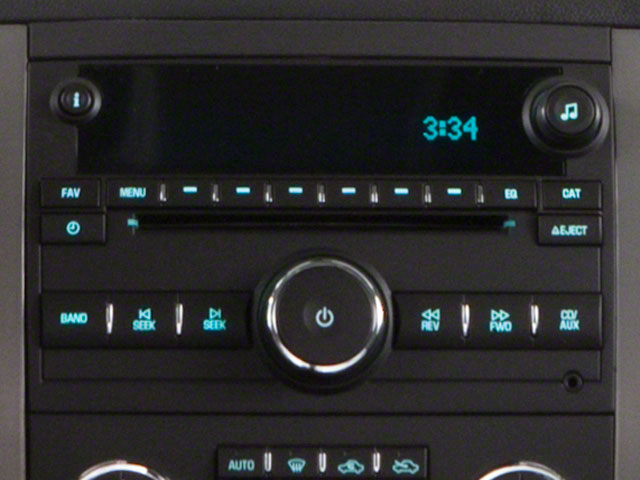 2011 GMC Sierra 3500HD Prices and Values Extended Cab SLE 2WD stereo system