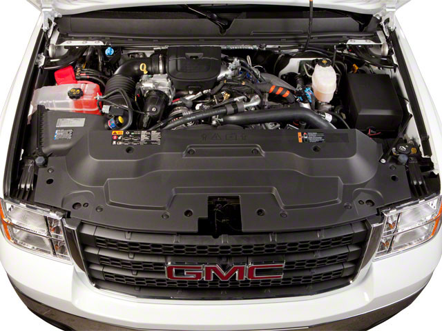 2011 GMC Sierra 3500HD Prices and Values Extended Cab SLE 2WD engine