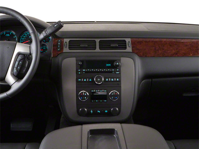 2011 GMC Sierra 3500HD Prices and Values Extended Cab SLE 2WD center dashboard