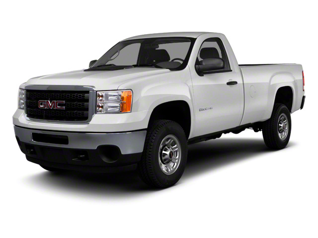 2011 GMC Sierra 3500HD Prices and Values Regular Cab SLE 4WD side front view