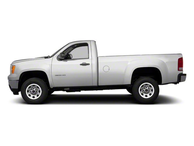 2011 GMC Sierra 3500HD Prices and Values Regular Cab SLE 4WD side view