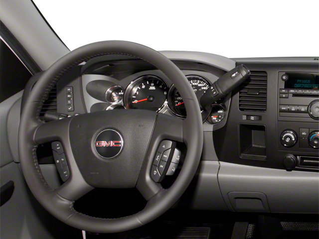 2011 GMC Sierra 3500HD Prices and Values Regular Cab SLE 4WD driver's dashboard