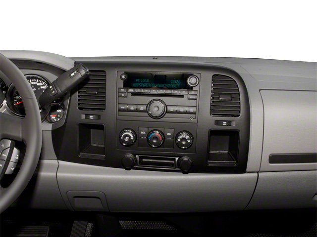 2011 GMC Sierra 3500HD Prices and Values Regular Cab SLE 4WD center dashboard