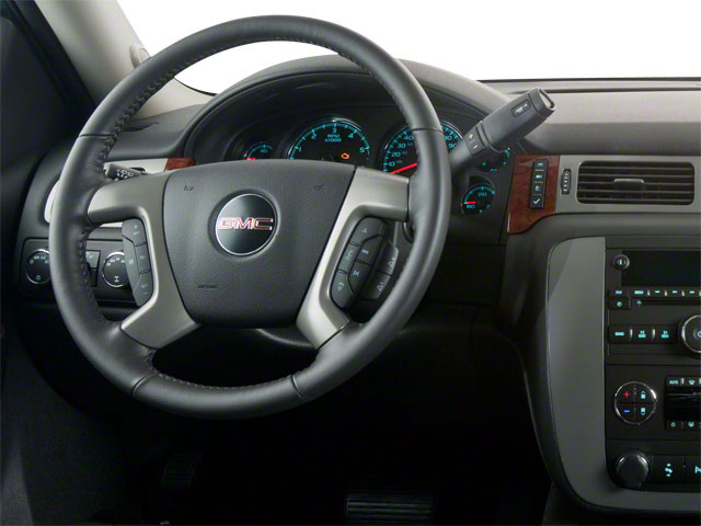 2011 GMC Yukon Prices and Values Utility 4D SLE 4WD driver's dashboard