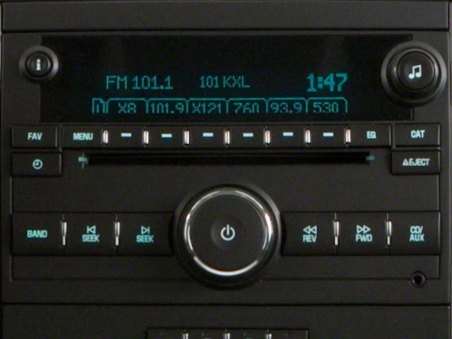 2011 GMC Yukon XL Prices and Values Utility C1500 SLT 2WD stereo system