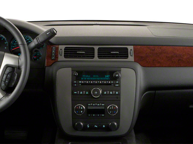 2011 GMC Yukon XL Prices and Values Utility C1500 SLT 2WD center dashboard