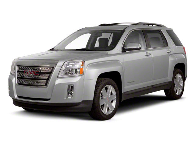 2011 GMC Terrain Prices and Values Utility 4D SLT2 AWD side front view