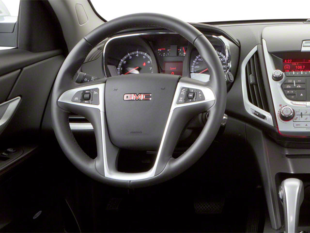 2011 GMC Terrain Prices and Values Utility 4D SLT2 AWD driver's dashboard