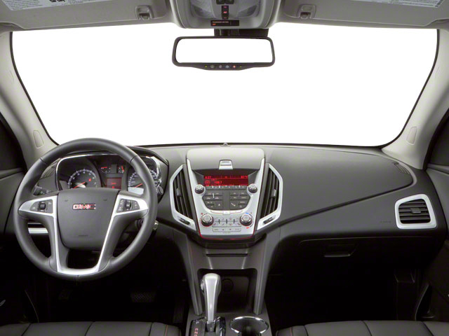 2011 GMC Terrain Prices and Values Utility 4D SLT2 AWD full dashboard