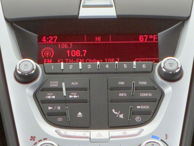 2011 GMC Terrain Prices and Values Utility 4D SLT AWD stereo system