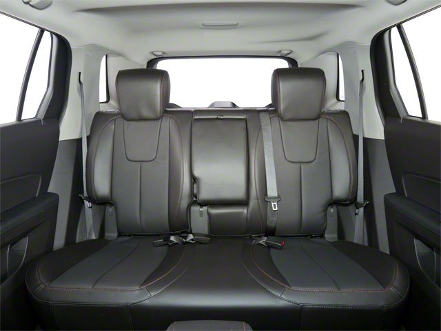 2011 GMC Terrain Prices and Values Utility 4D SLT AWD backseat interior