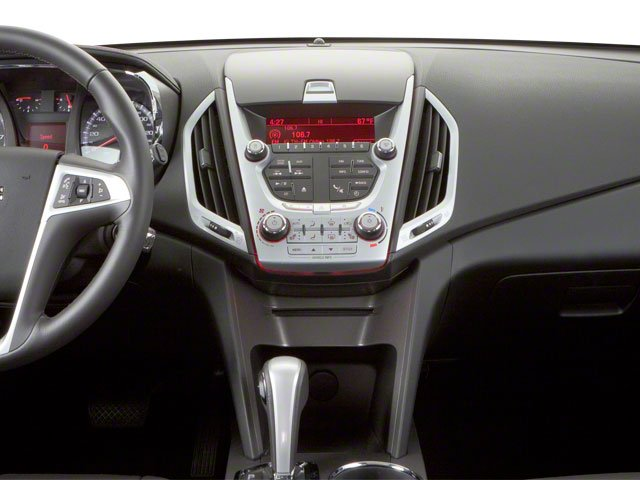 2011 GMC Terrain Prices and Values Utility 4D SLT AWD center dashboard