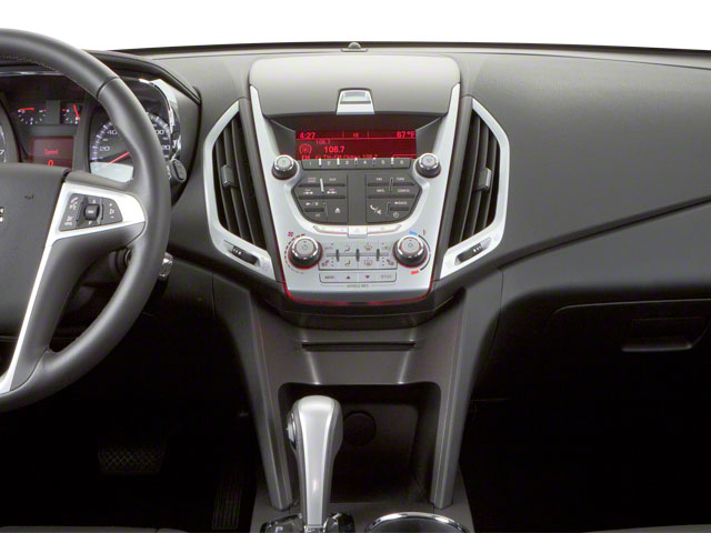 2011 GMC Terrain Prices and Values Utility 4D SLT2 AWD center dashboard
