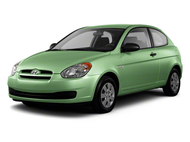 2011 Hyundai Accent Prices and Values Hatchback 3D GL side front view