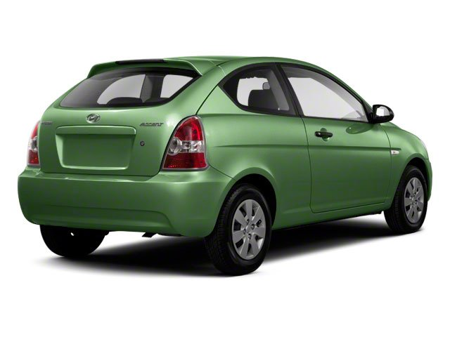 2011 Hyundai Accent Prices and Values Hatchback 3D GL side rear view