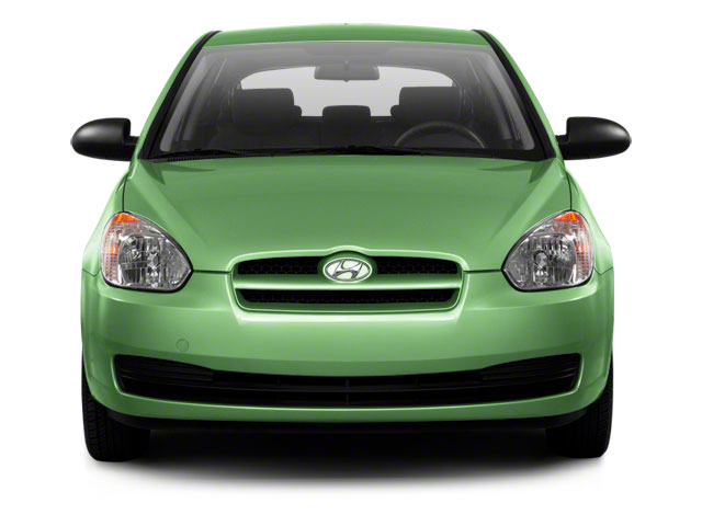 2011 Hyundai Accent Prices and Values Hatchback 3D GL front view