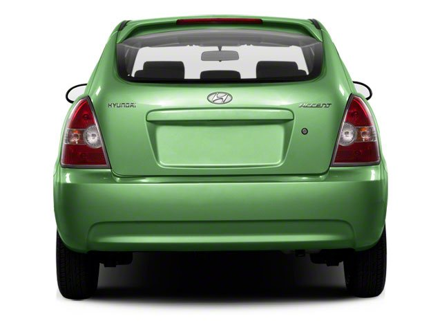 2011 Hyundai Accent Prices and Values Hatchback 3D GL rear view