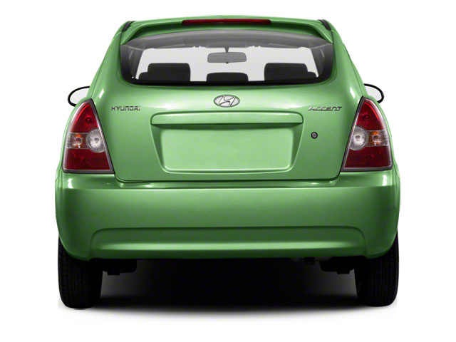 2011 Hyundai Accent Prices and Values Hatchback 3D GS rear view