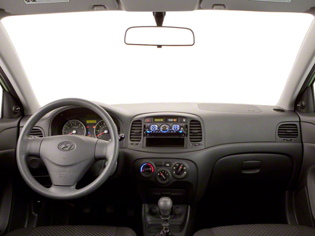 2011 Hyundai Accent Prices and Values Hatchback 3D GL full dashboard
