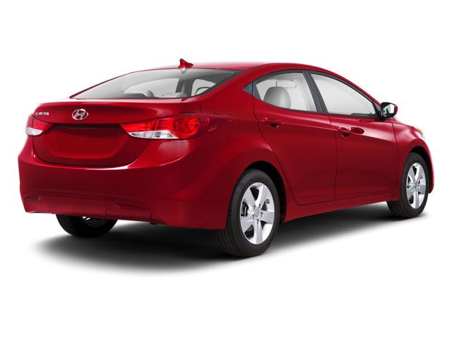 2011 Hyundai Elantra Prices and Values Sedan 4D Limited side rear view