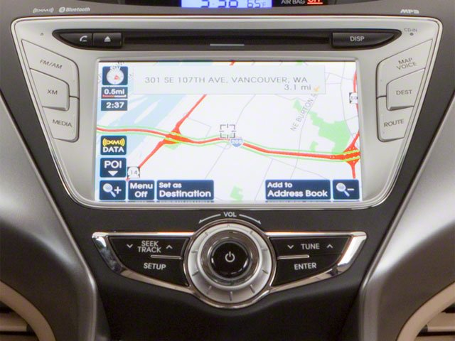 2011 Hyundai Elantra Prices and Values Sedan 4D Limited stereo system