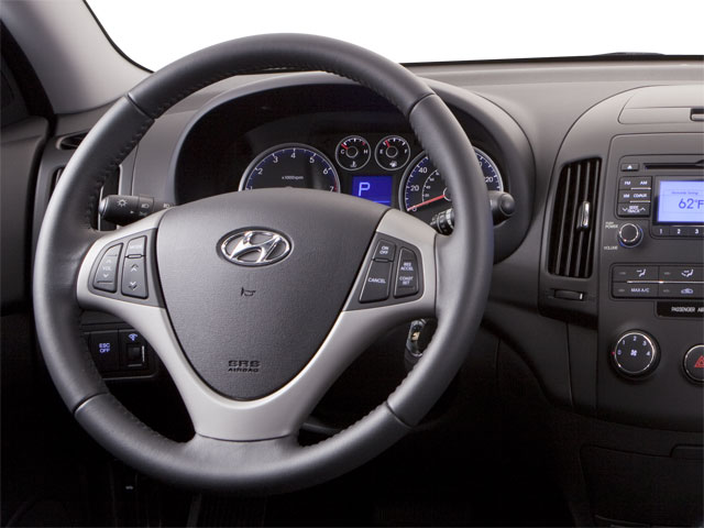 2011 Hyundai Elantra Touring Prices and Values Hatchback 5D Touring GLS driver's dashboard