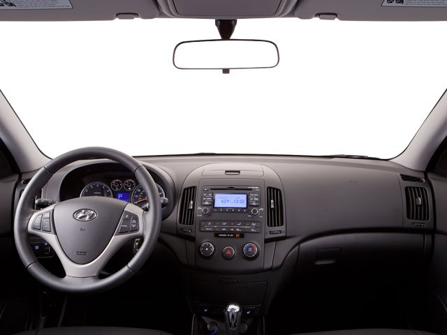 2011 Hyundai Elantra Touring Prices and Values Hatchback 5D Touring GLS full dashboard