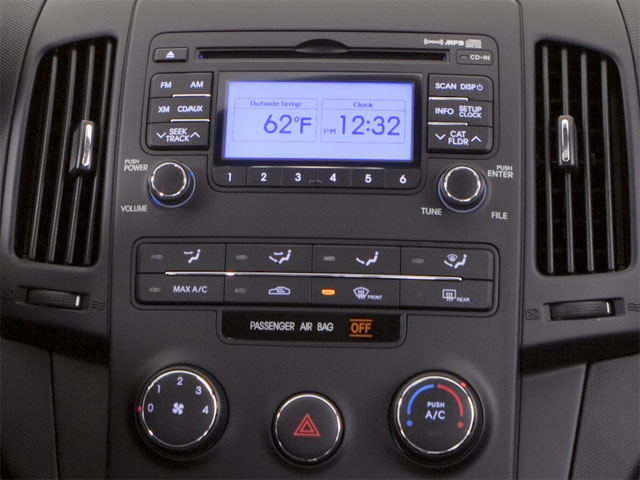 2011 Hyundai Elantra Touring Prices and Values Hatchback 5D Touring GLS stereo system