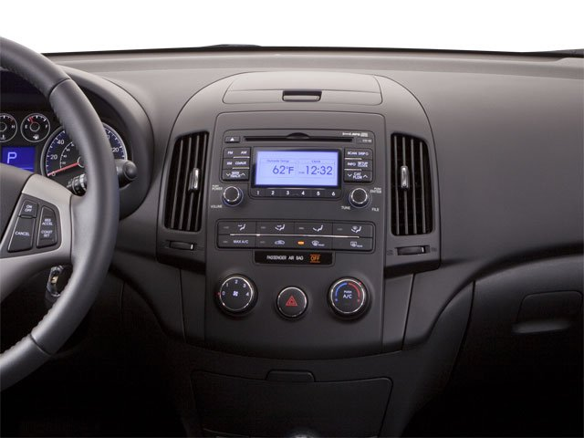 2011 Hyundai Elantra Touring Prices and Values Hatchback 5D Touring GLS center dashboard